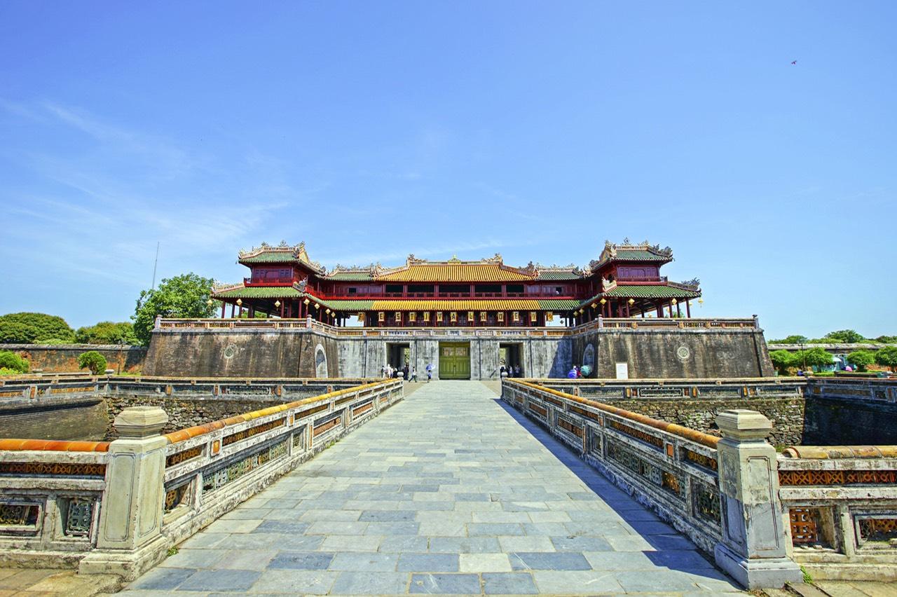 Visite de la cité impériale de Hue