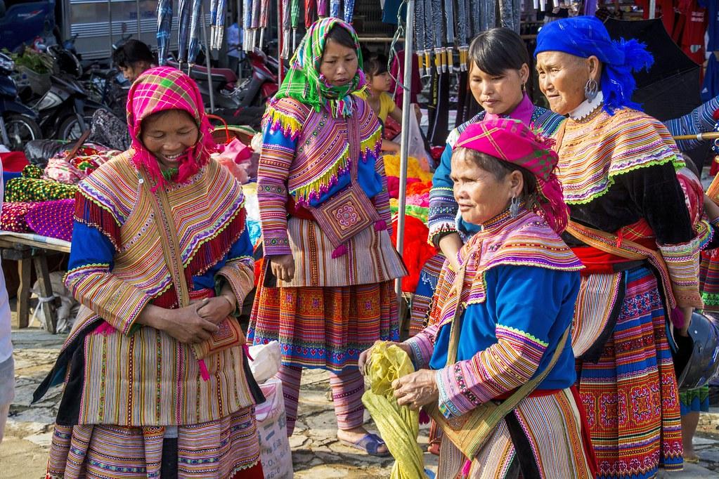 Les marchés ethniques de Bac Ha